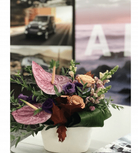 Оформление ресепшена цветами – Интернет-магазин цветов STUDIO Flores