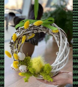 Венок Пасхальный 1 – Інтернет-магазин квітів STUDIO Flores