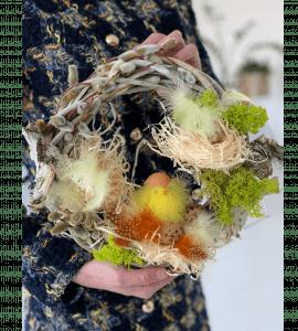 Венок Пасхальный 2 – Интернет-магазин цветов STUDIO Flores