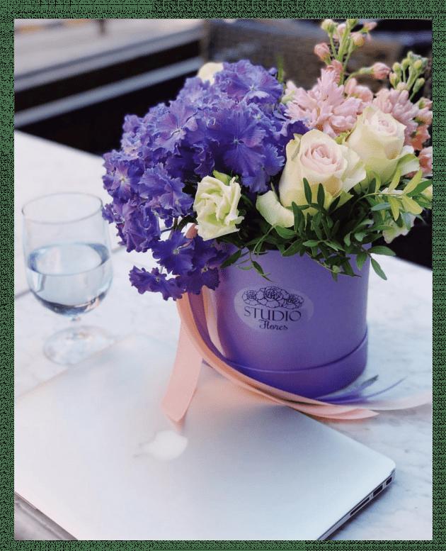 Букет 'Деловое утро' – Интернет-магазин цветов STUDIO Flores