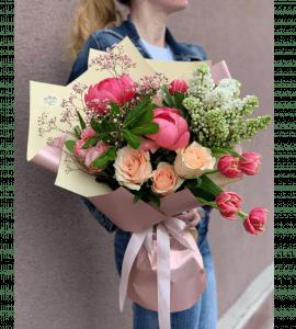 """Букет """"Эсмеральда"""" – Интернет-магазин цветов STUDIO Flores"""