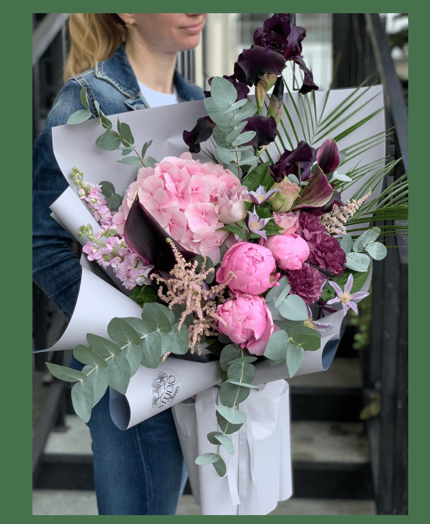 """Букет """"Королевский шарм"""" – Интернет-магазин цветов STUDIO Flores"""