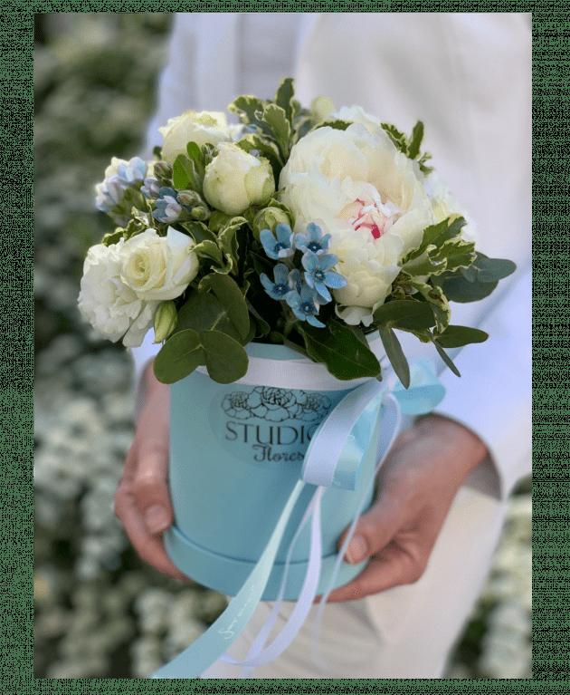 """Букет """"Небесная лазурь"""" – Интернет-магазин цветов STUDIO Flores"""