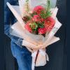Букет с георгинами – изображение 2 – Интернет-магазин цветов STUDIO Flores
