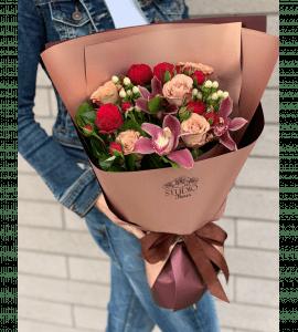 """Букет """"Шоколад"""" – Интернет-магазин цветов STUDIO Flores"""
