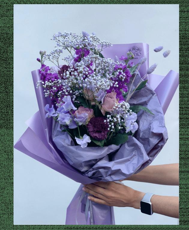 """Букет """"Ягодное суфле"""" – Интернет-магазин цветов STUDIO Flores"""