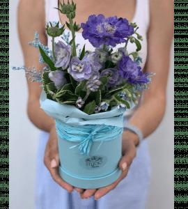 Букет 'Васильковое поле' – Интернет-магазин цветов STUDIO Flores