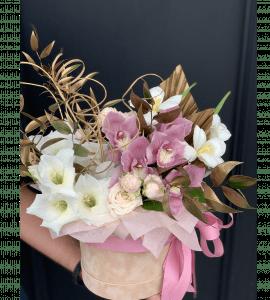 """Букет """"Конфитюр"""" – Інтернет-магазин квітів STUDIO Flores"""
