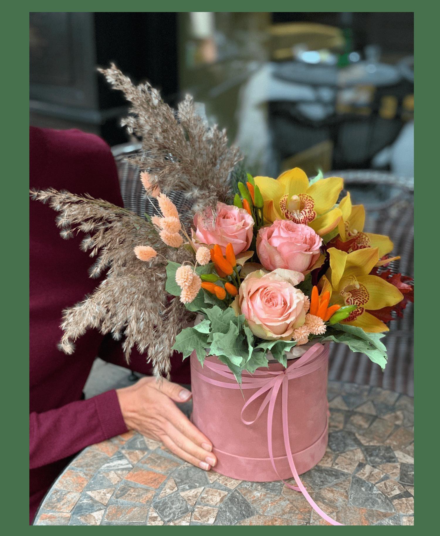 """Букет """"Нью Йорк"""" – Интернет-магазин цветов STUDIO Flores"""