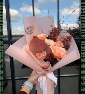 """Букет """"Тайны охры"""" – Інтернет-магазин квітів STUDIO Flores"""