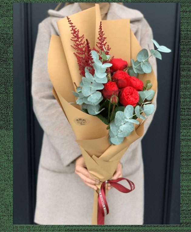 Букет 'Леди Пиано' – Интернет-магазин цветов STUDIO Flores