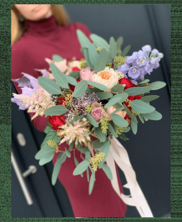 Букет невесты 28 – Интернет-магазин цветов STUDIO Flores