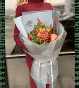 """Букет """"Осенний комплимент"""" – Інтернет-магазин квітів STUDIO Flores"""