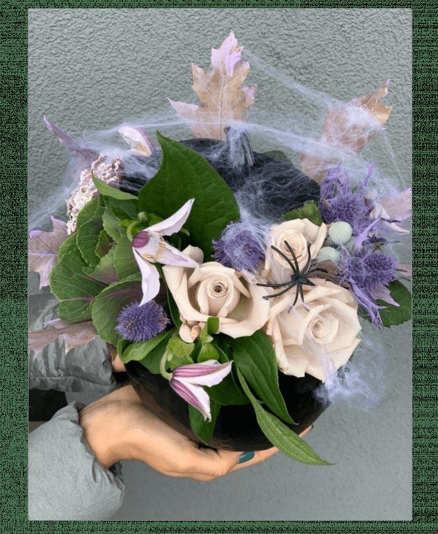 Букет 'Таинственный Хеллоуин' – Интернет-магазин цветов STUDIO Flores