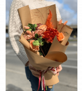 """Букет """"Золотая осень"""" – Інтернет-магазин квітів STUDIO Flores"""