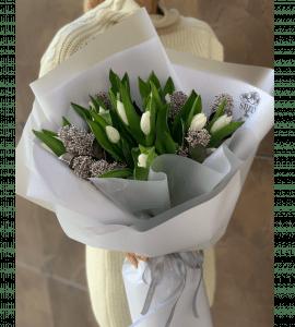 Букет 'Изморозь' – Интернет-магазин цветов STUDIO Flores