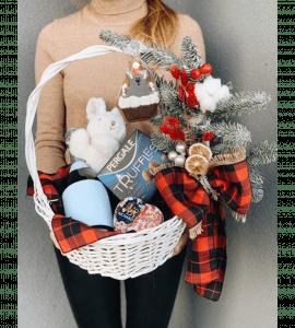 """Новогодний подарок """"Мышонок"""" – Інтернет-магазин квітів STUDIO Flores"""