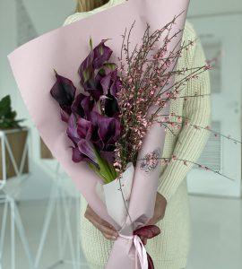 Букет 11 калл – Интернет-магазин цветов STUDIO Flores