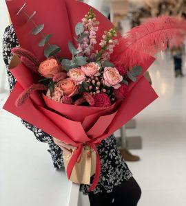 Букет 'Гуашь' – Интернет-магазин цветов STUDIO Flores