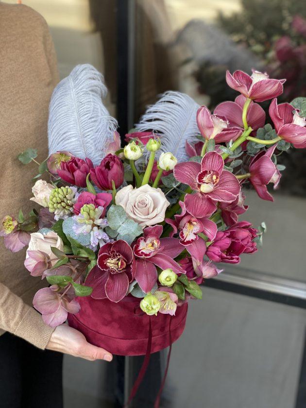 Букет 'Королева Марго' – Интернет-магазин цветов STUDIO Flores