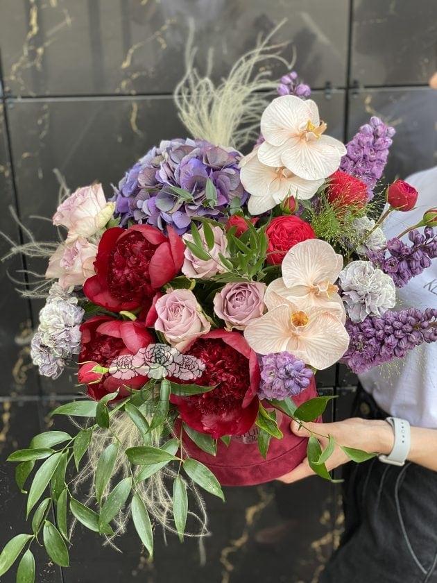 Букет 'Марсель' – Интернет-магазин цветов STUDIO Flores