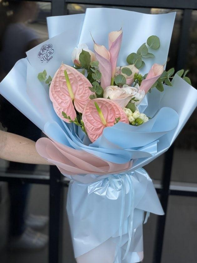 Букет 'Струны' – Интернет-магазин цветов STUDIO Flores