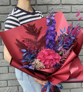 Букет 'Натхненні Мунком' – Інтернет-магазин квітів STUDIO Flores