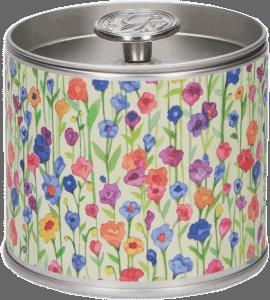 Свеча в табакерке 'Бриз Луга' – Интернет-магазин цветов STUDIO Flores