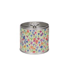Candle in a snuff box 'Breeze of the Meadow' – Flower shop STUDIO Flores