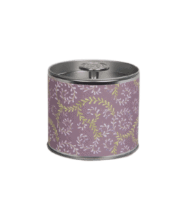 Candle in a snuff box 'Lavender' – Flower shop STUDIO Flores
