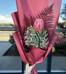Букет 'Бургунди' – Интернет-магазин цветов STUDIO Flores