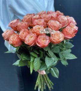 Букет двадцать три розы Кахала – Интернет-магазин цветов STUDIO Flores