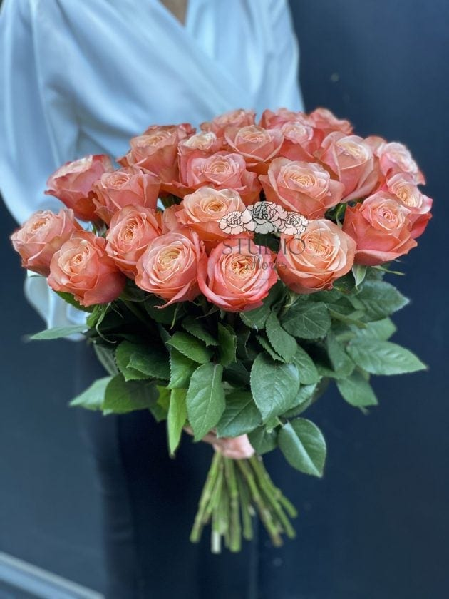 Bouquet  twenty three roses Kahala – Flower shop STUDIO Flores