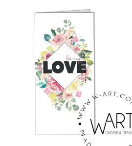 Открытка к цветам 24 – Интернет-магазин цветов STUDIO Flores