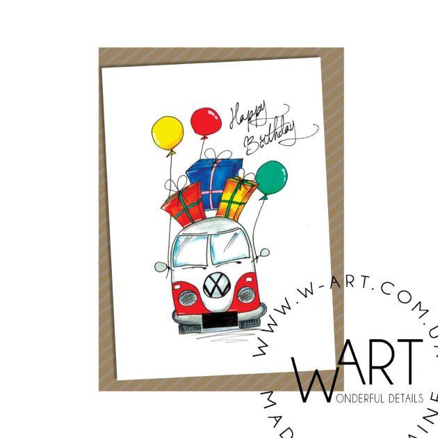 Открытка с конвертом 18 – Интернет-магазин цветов STUDIO Flores