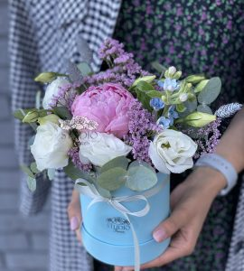 Букет 'Рожеві щічки' – Інтернет-магазин квітів STUDIO Flores