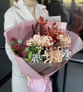 Букет 'Фламенко' – Интернет-магазин цветов STUDIO Flores