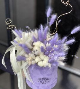 Букет из сухоцветов 'Лаванда' – Интернет-магазин цветов STUDIO Flores