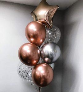 Набор шаров с гелием 17 – Интернет-магазин цветов STUDIO Flores