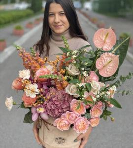 Букет 'Касабланка' – Интернет-магазин цветов STUDIO Flores