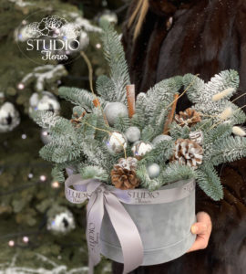 Букет 'Метель' – Интернет-магазин цветов STUDIO Flores