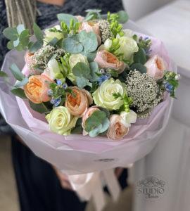 Букет 'Париж' – Інтернет-магазин квітів STUDIO Flores