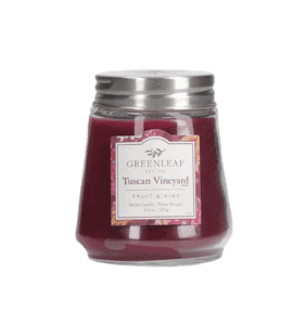 Miniature candle 'Tuscany grapes' – Flower shop STUDIO Flores