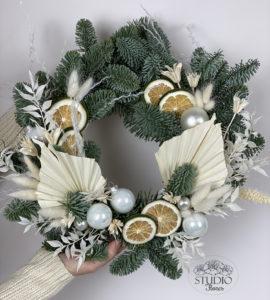 Новогодний венок - flores-shop.com.ua