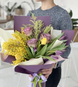 Букет 'Аромат мимозы' – Интернет-магазин цветов STUDIO Flores
