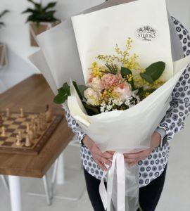 Букет 'Солнечное утро' – Интернет-магазин цветов STUDIO Flores
